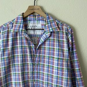 FRANK & EILEEN Barry Plaid Button Down Long Sleeve